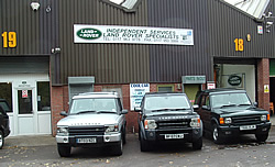 Land Rover Services Bristol